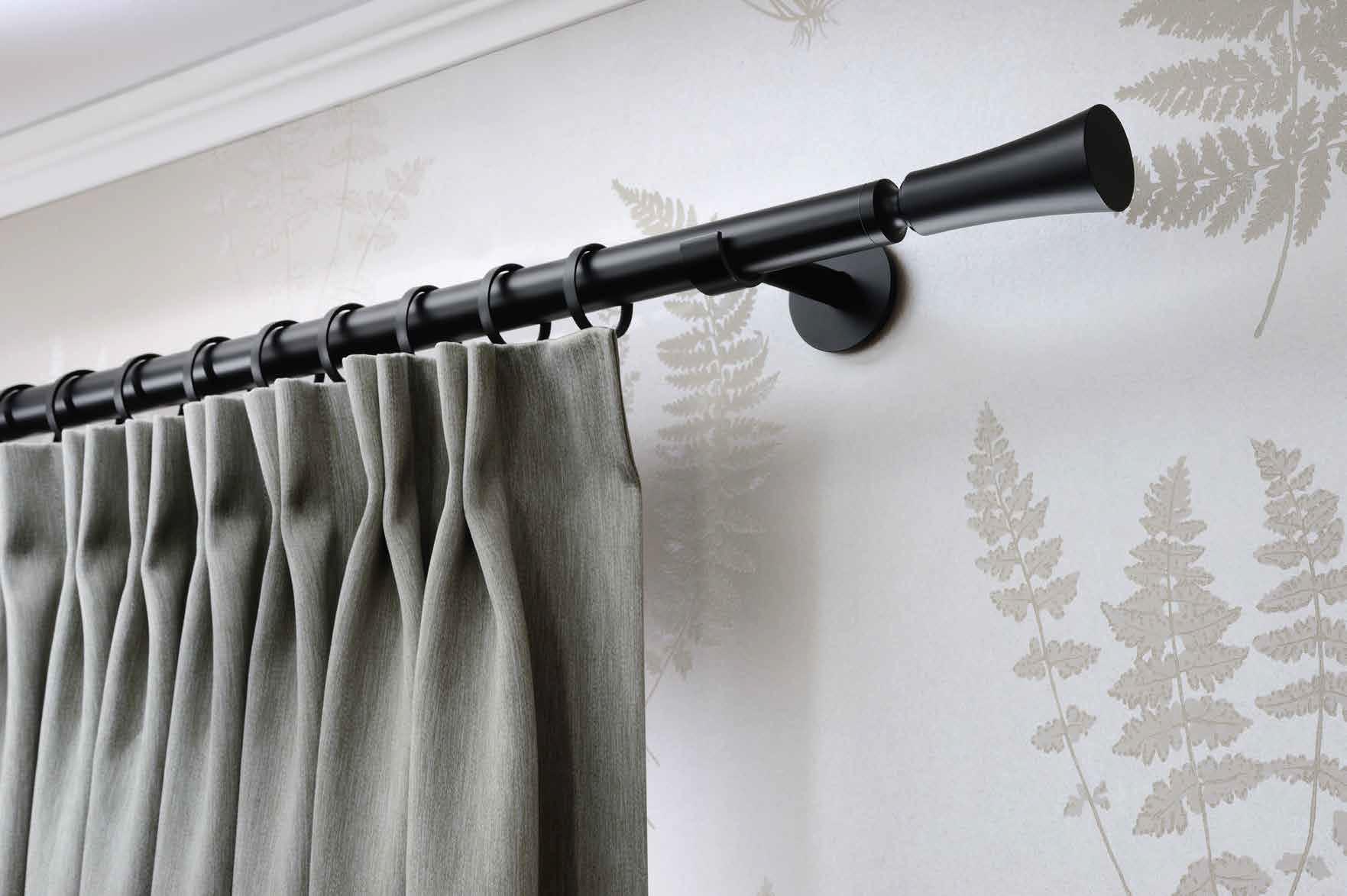 Interstil Curtain Rods Iron 20 25mm Mediterranean Living