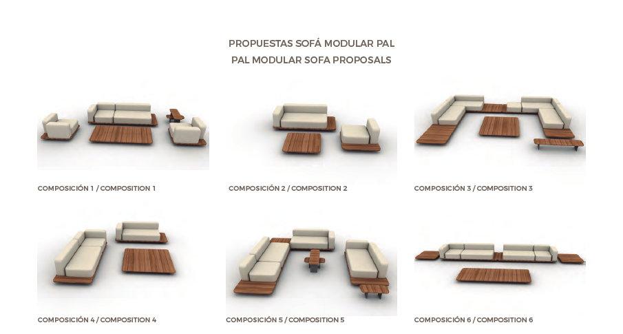 modular sofa Pal from Point / Mediterranean Living / Mallorca